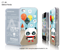 Чехол для iPhone 4/4s - Baloon Panda