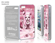 Чехол для iPhone 5 - Strawberry Girl