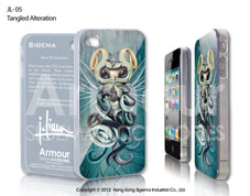 Чехол для iPhone 4/4s - Tangled Alteration