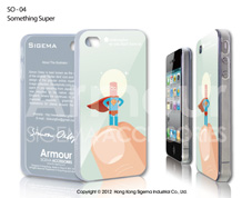 Чехол для iPhone 4/4s - Something Super